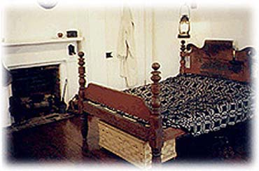 The Bedroom in the Thomas Edison House of Louisville